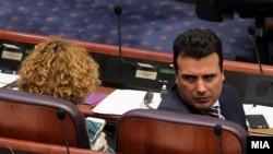 Зоран Заев во Собрание на седница за пратенички прашања