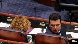 Владата на премиерот Зоран Заев ја преживеа интерпелацијата во Собранието.