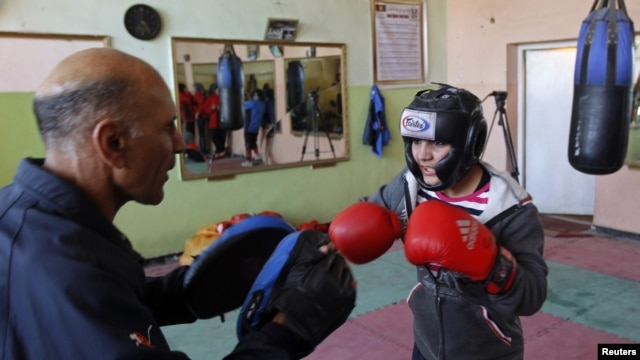 Afghanistan is now preparing to send its first female athlete to the Olympics, boxer Sadaf Rahimi.