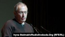 Միխայիլ Խոդորկովսկին դասախոսություն է կարդում Կիևում, 10֊ը մարտի, 2014