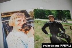 Забітыя: настаўніца Марына Пархімовіч і школьнік Саша Раманаў