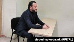 """Орце Камчев во судница како сведок во случајот """"Рекет"""""""