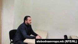"""Орце Камчев во судница како сведок во случајот """"Рекет"""" (12 декември 2019 година)"""