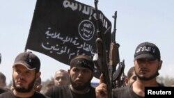 Сириядагы исламчыл согушкерлер. 17-сентябрь, 2012-жыл.