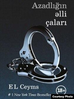 E. L. Jamesiň azerbaýjan dilinde çykan kitabynyň daşky keşbi