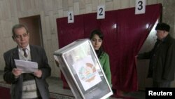 International election monitors said the Tajik vote was neither fair nor free and did not meet international standards.