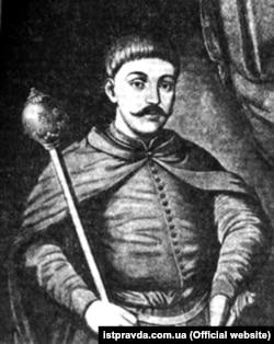 Іван Брюховецький (1623–1668) – український військовий, політичний і державний діяч. Гетьман Війська Запорозького, голова козацької держави на Лівобережній Україні (1663–1668)