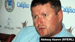 Олимпийский чемпион по теннису Евгений Кафельников на Kazakhstan Open в третий раз. Алматы, 8 сентября 2012 года.