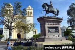 Помнік змагарам за незалежнасьць у Сан-Сальвадоры