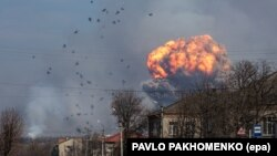 Взрывы на военных складах возле Балаклее, 23 марта 2017 года
