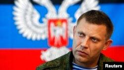Так званий «прем'єр-міністр» угруповання «ДНР» Олександр Захарченко