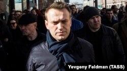 Алексей Навальный на Тверской улице в Москве, 26 марта 2017 года