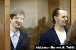 """Александр Филинов, последний из участников """"Шалтая"""", остающийся за решеткой (слева), и Константин Тепляков"""