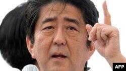 شینزو آبه، نخست وزیر و رهبر حزب لیبرال دمکرات ژاپن