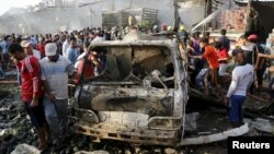 Bagdad, foto nga arkivi