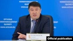 Азамат Базылбеков в бытность заместителем председателя комитета уголовно-исполнительной системы МВД Казахстана.