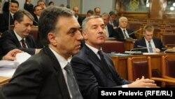 Filip Vukanović i Milo Đukanović
