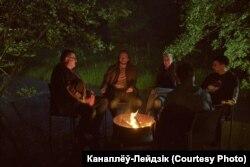 Віктар Бабарыка, Іван Краўцоў і Марыя Калесьнікава