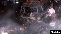 Дорожная авария с участием нескольких автомобилей. Иллюстративное фото.