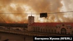 Пожары в Забайкалье (Россия)