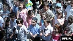 ბავშვთა დაცვის დღე მთაწმინდის პარკში