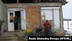 Сиромашното семејство на Далибор Димитиревски од Куманово.