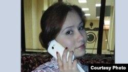 Шабнам Худайдодава, фота з Твітэра