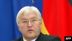 فرانک والتر اشتاين ماير، وزير امور خارجه آلمان،خواستار نقش فعال تر اتحاديه اروپا در بحران گرجستان شد. (عکس از AFP)