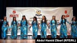 الاحتفال بعيد المرأة في اربيل