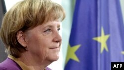 "German Chancellor Angela Merkel has said it's important to have a ""culture of remembering."""