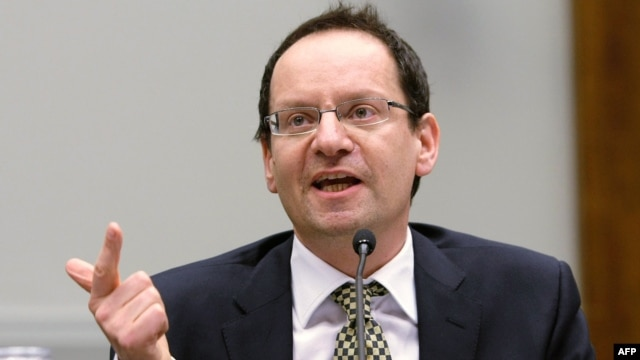 Philippe Sands, professor of law and director of the Center of International Courts and Tribunals at University College London (file photo)