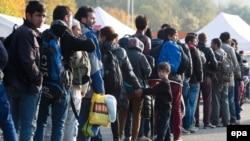 Германияга кирген качкындар, 30-октябрь, 2015.