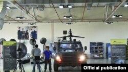 İlham Əliyev «Zərbə» dronlarının təqdimatında- [fotolar]