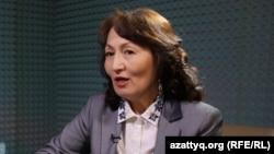Галия Аженова, сотрудник прессозащитной организации «Адил соз».