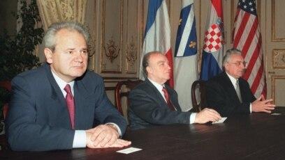 Slobodan Milošević, Alija Izetbegović i Franjo Tuđman svojim potpisima potvrdili su Dejtonski mirovni sporazum kojim je okončan rat u BiH 1992-1994. godine