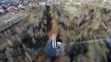 Як выглядае Калоскі парк перад Днём Волі. ФОТА