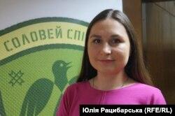 Анастасія Федченко, одна з творців фільму про мову «Соловей співає»