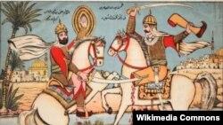 Saud Arabystany, Ali ibn Abi Talib bilen Amr Ben Waddyň arasynda, Medinäniň golaýynda bolan söweş, 627 ý.