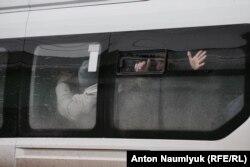 Задержания у дома Мустафаева