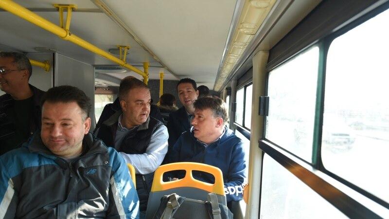 Град Скопје  Системско менување на концептот на јавниот превоз