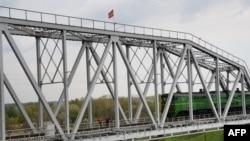 Podul de peste Nistru între Bender şi Tiraspol, 15 aprilie 2014