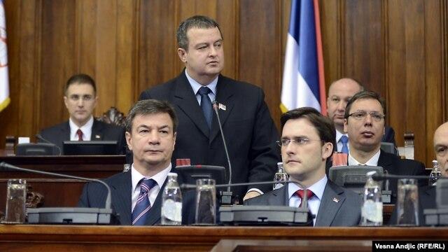 Rasprava u Skupštini Srbije o Predlogu rezolucije o Kosovu, 12. januar 2013.