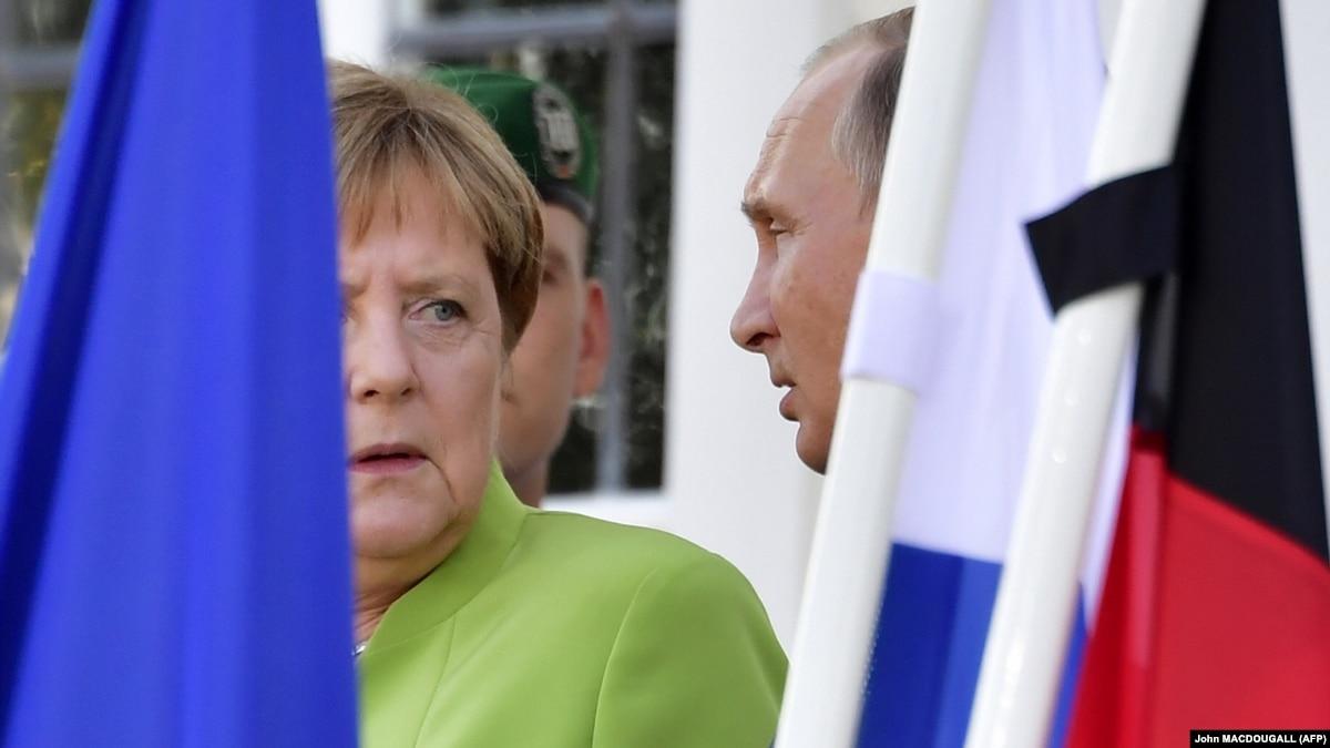 Меркель: Германия будет добиваться режима тишины в Донбассе