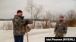 Андрей Рогачев и Владимир Зонов, экологические активисты