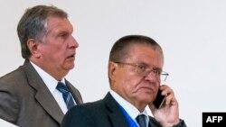 Игорь Сечин и Алексей Улюкаев, 8 августа 2016 г. Баку