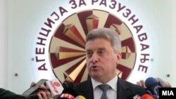 Президент Македонии Геогре Иванов.