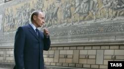 Владимир Путин в Дрездене уже в ранге президента России