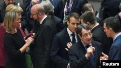 Lideri EU na samitu u Briselu u decembru.