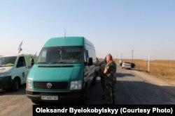 Початок блокади Криму активістами. Вересень 2015 року