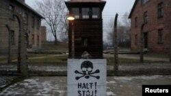تصویری از اردوگاه آشویتس